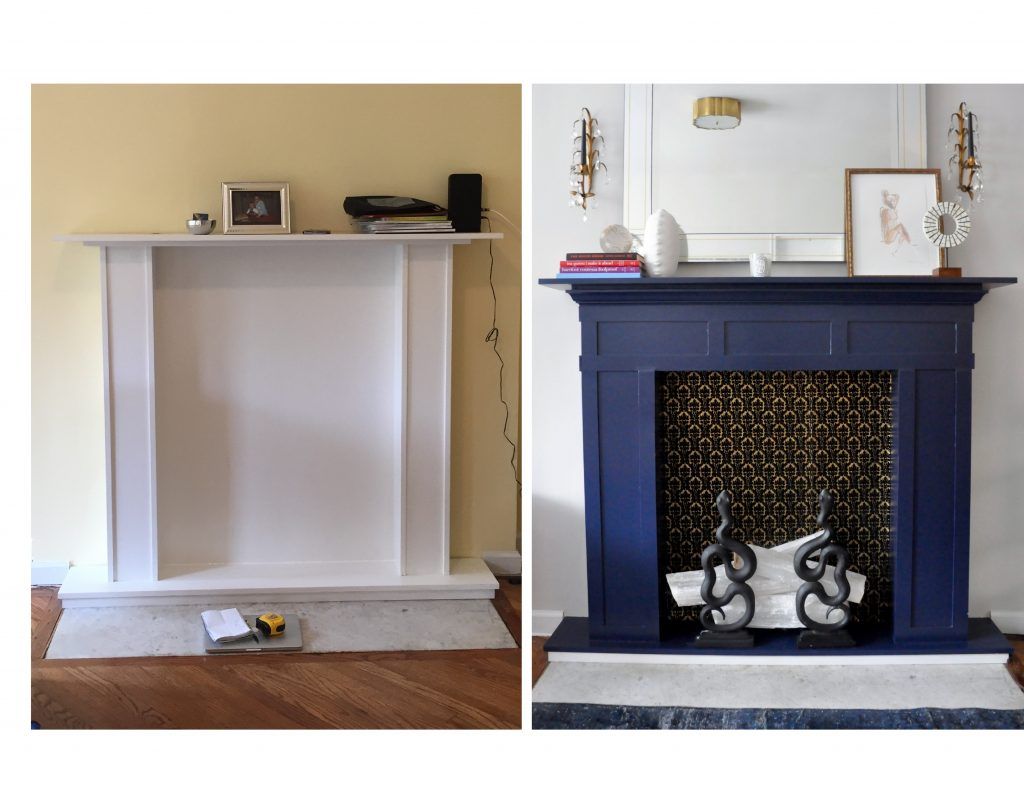 fireplace-surround-papered